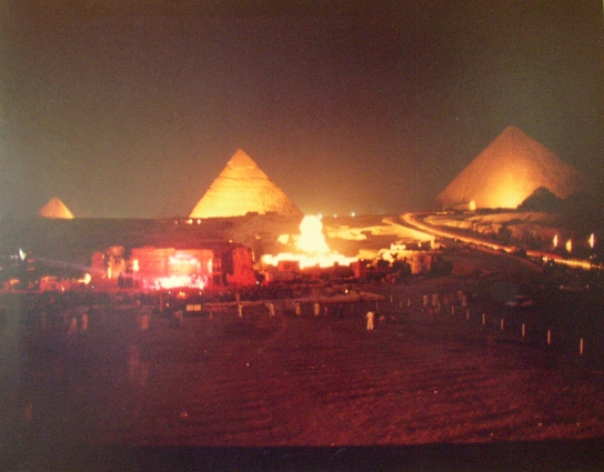 Giza Sound And Light Theater Cairo Egypt Grateful Dead