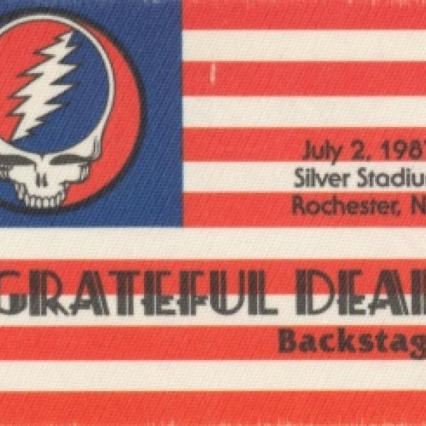 Silver Stadium July 2 1987 Grateful Dead