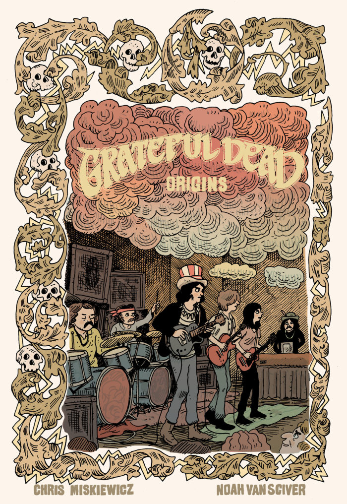GRATEFUL DEAD PARTNERS WITH Z2 COMICS TO RELEASE GRATEFUL