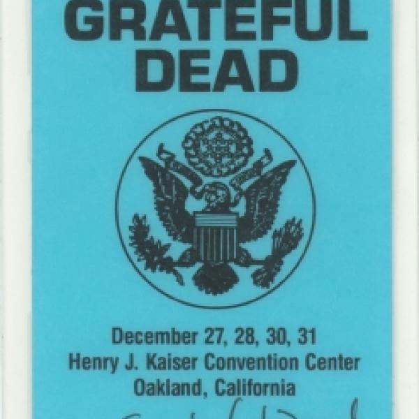 0f1b55f0d923 Henry J. Kaiser Convention Center - December 31